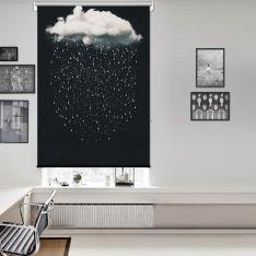 Hayal Bulutları Tek Kanat Stor Perde