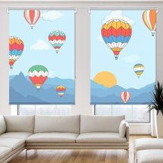 Uçan Balonlar 2 Kanat Stor Perde