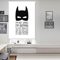 Bat Children Single Roller Blind