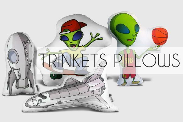 Trinkets Pillows