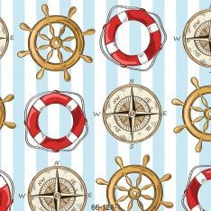 Sailor Pattern Wall Paper
