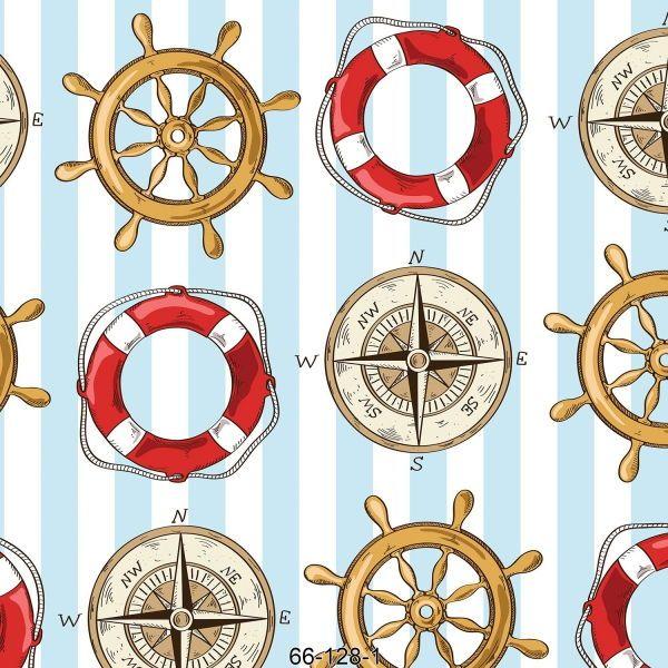 Denizci Desen Duvar Kağıdı