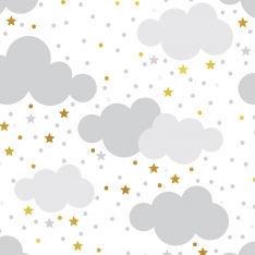 Gray Sky Wall Paper