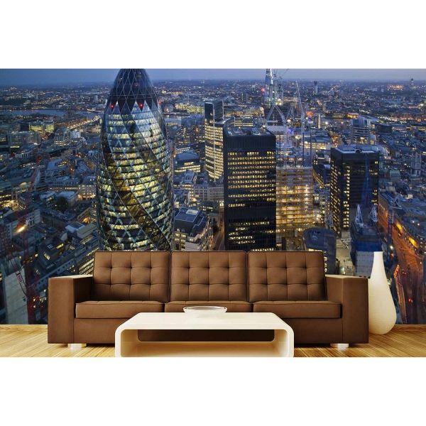 Londra Görüntüsü Poster Duvar Kağıdı