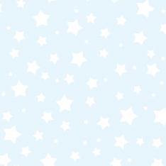 Mavi Beyaz Yıldızlar Duvar Kağıdı
