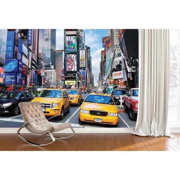 New York Times Meydanı Poster Duvar Kağıdı