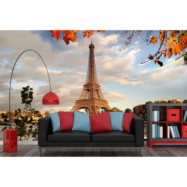 Paris Eyfel Kulesi Poster Duvar Kağıdı