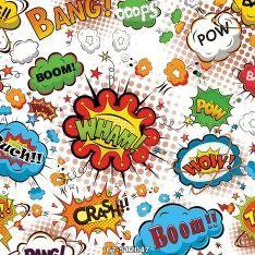 Pop-Comic Duvar Kağıdı