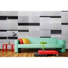 Black and White Squares Poster Wall Paper