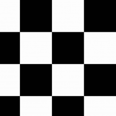 Black Checkers Wall Paper
