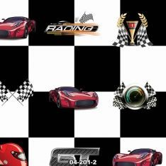Black Checkers and Racer Wall Paper