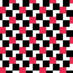 Siyah-Kırmızı Kompozisyon Duvar Kağıdı
