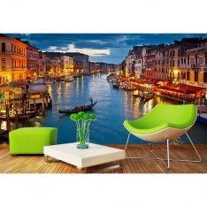 Venedik'te Gün Batımı Poster Duvar Kağıdı