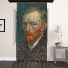 Vincent Van Gogh - Otoportre Tül Perde