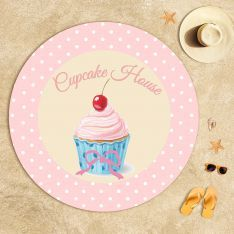 Cupcake Dreams Beach Towel
