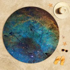 ''The Eye'' Space Beach Towel