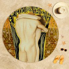 Gustav Klimt  Güneş Plaj Havlusu