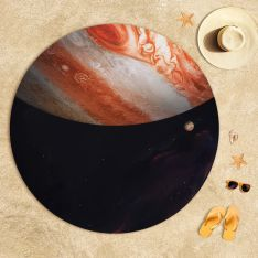 Jupiter Atmosphere Beach Towel