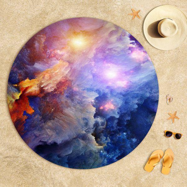 Nebulanın Derinlerinde Uzay Plaj Havlusu