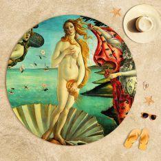 Sandro Botticelli - Venüs'ün Doğuşu 2 Plaj Havlusu