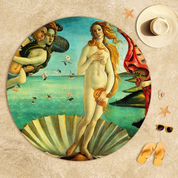 Sandro Botticelli - Venüs'ün Doğuşu Plaj Havlusu