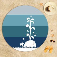 Sevimli Balina Plaj Havlusu