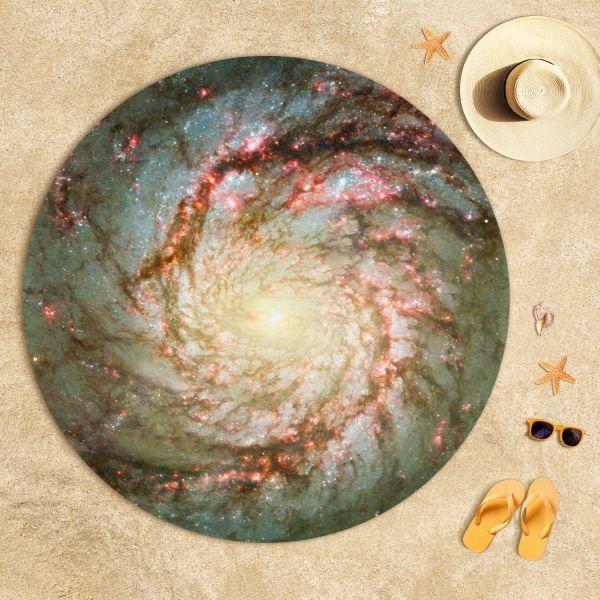 Spiral Galaksinin Kolları Plaj Havlusu