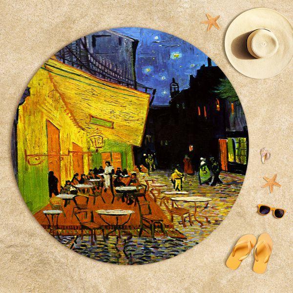 Vincent Van Gogh - Teras Kafe Plaj Havlusu