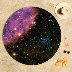 Yıldızlararası Uzay Plaj Havlusu