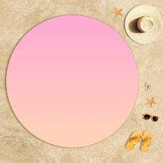 Pink Powder Degrade Beach Towel