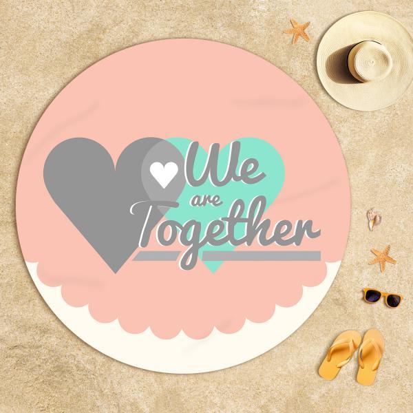 We are Together Plaj Havlusu