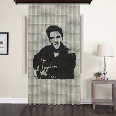 Elvis Presley Nostaljik Tül Perde