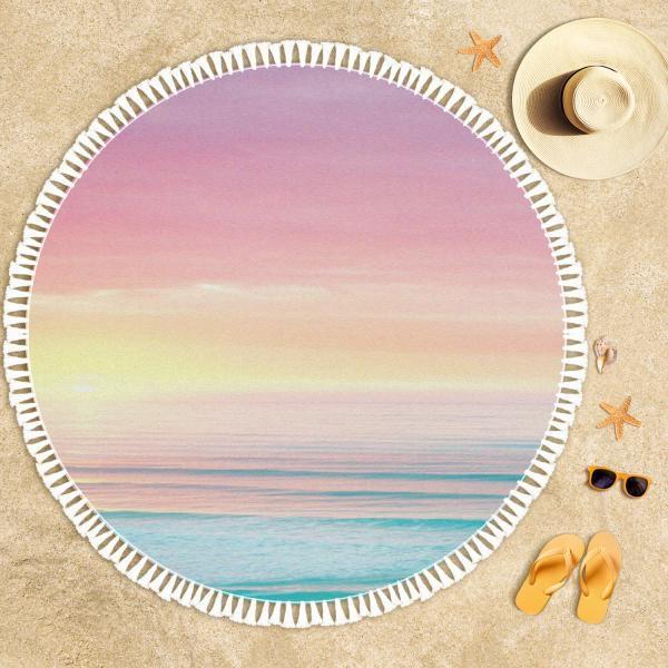 Günbatımı Plaj Havlusu