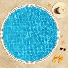 Pool Floor Beach Towel