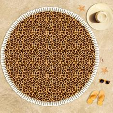 Leopard Pattern Beach Towel