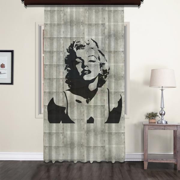 Marilyn Monroe Nostalgic Tulle Curtain