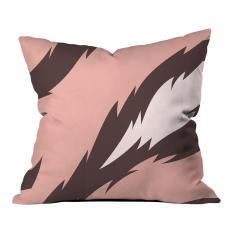 Pink Tiger Pattern Pillow