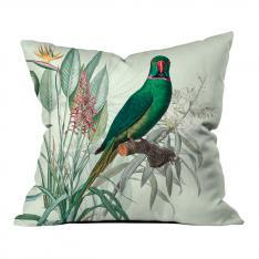 Tropical Parrots Pillow