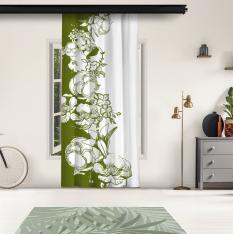 Yeşil Çiçek Motifleri