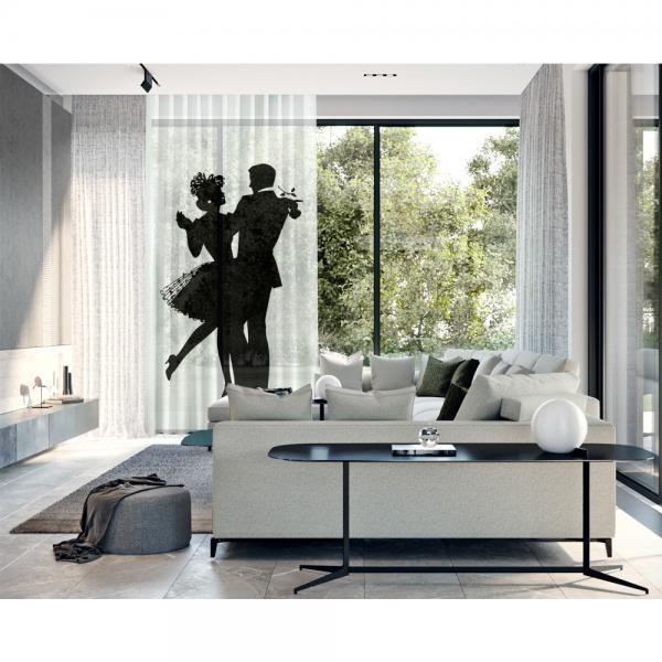 Aşk Dansı Tek Kanat Tül Perde
