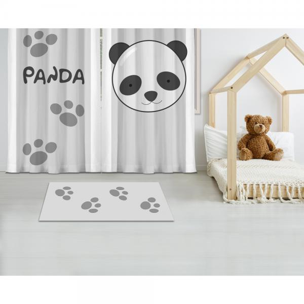 Cipcici Panda Baskılı Halı