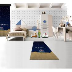 Cipcici Theater Little Prince Night Printed Carpet