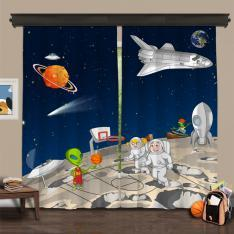Cipcici Theatre Space Buddies 2 Panel Curtain