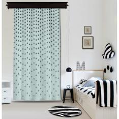 Blue Droplets Panel Curtain By İmren Gürsoy