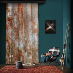 ANGST Survey Galaxy - NGC 253 One Piece Panel Curtain