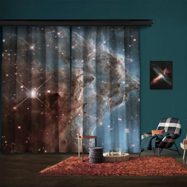 NGC 2174 2 Kanat Fon Perde