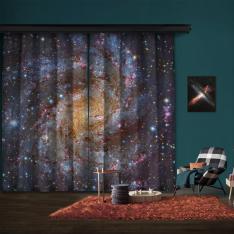 NGC 6946 (HST, Subaru) 2 Kanat Fon Perde