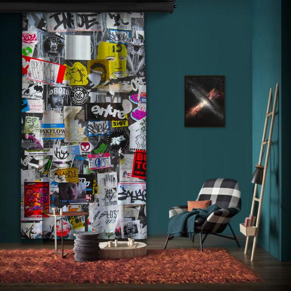 """Amsterdam """"Wall 1"""" One Piece Panel Curtain"""