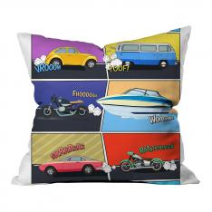 Vehicle Composition Pillow
