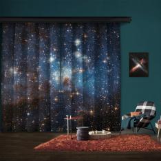 Büyük Macellan Bulutunda Yıldız Oluşturan Bölge LH 95 2 Kanat Blackout PerdeStar